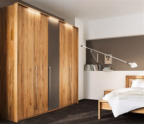 Solid Wood Wardrobes by Traditional Luxury Solid Wood Wardrobes Team 7 Soft At