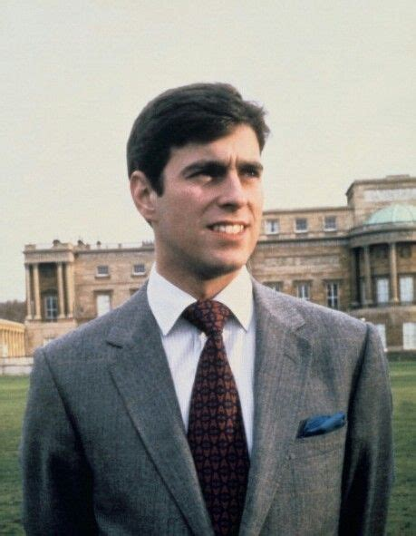 Young Prince Andrew (saw him while in Greenwich, England ...