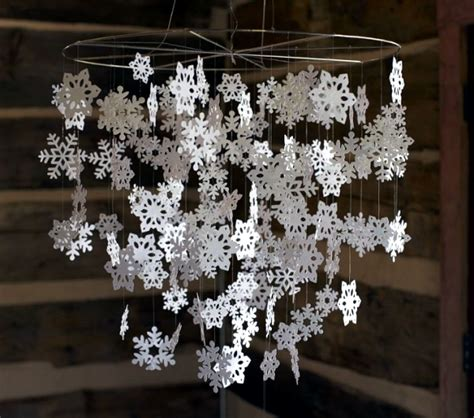 snowflakes craft  decorate  apartment  christmas