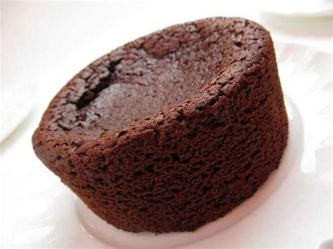 recette gateau au chocolat coeur coulant