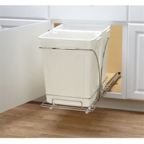 Kitchen Trash Can Caddy by Household Essentials C21247 1 Cabinet Sliding