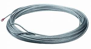Warn 38314 Replacement Wire Rope For Xd9000  M8000  And X8000i Winches