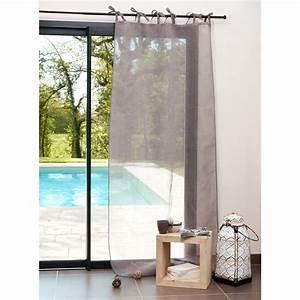 Rideaux Maison Du Monde Occasion : rideau nouettes en lin gris 105 x 300 cm maisons du monde ~ Dallasstarsshop.com Idées de Décoration
