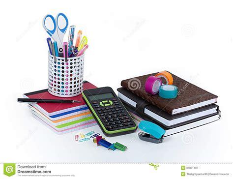 achat fourniture de bureau fournitures de bureau d 39 école et photo stock image 38831487