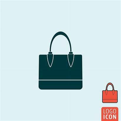 Handbag Icon Vector Isolated Clipart
