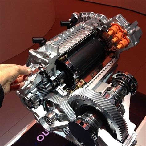 Electric Motor Engine by Cutaway View Of Vw S New Vwegolf 100 Electric Motor At