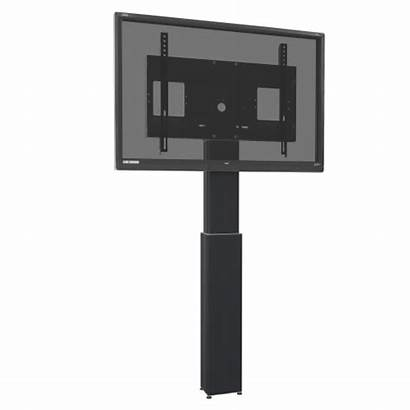 Motorized Display Mount Vertical Travel