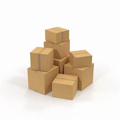 Cardboard Pile Box Pixelsquid Interactivity Initial Loading