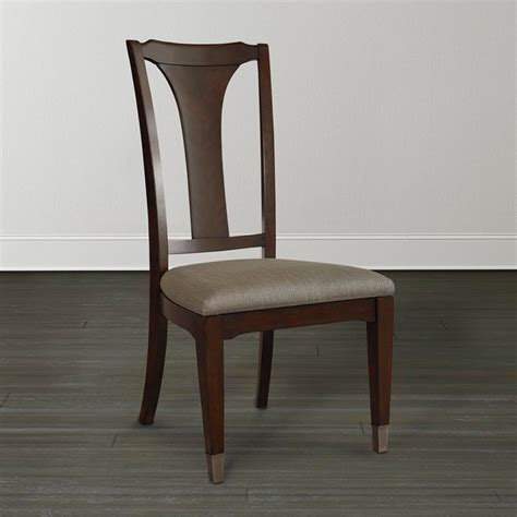 cosmopolitan side chair by bassett furniture