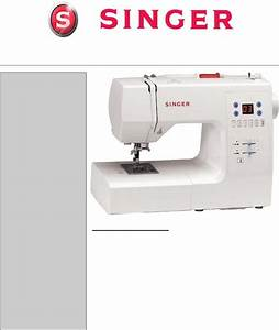 Singer Sewing Machine 7444 User Guide