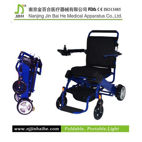 fauteuil roulant 233 lectrique pliable en aluminium l 233 ger de taille standard photo sur fr made in