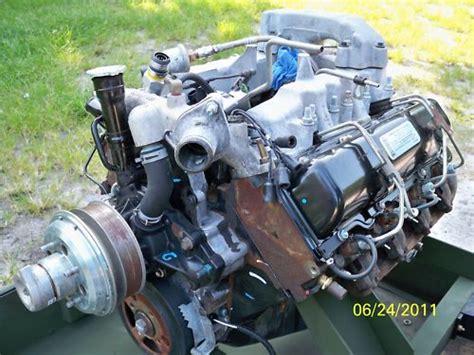 le de sel a vendre combien vaut r 233 ellement le moteur 6 5l turbo diesel de chez gm avec sa transmition 4l80e sur un h1