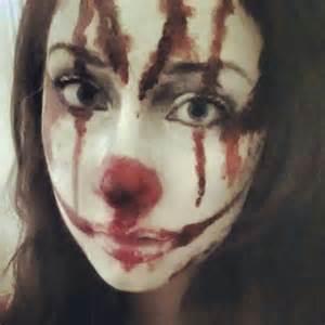 Bloody Clown Makeup