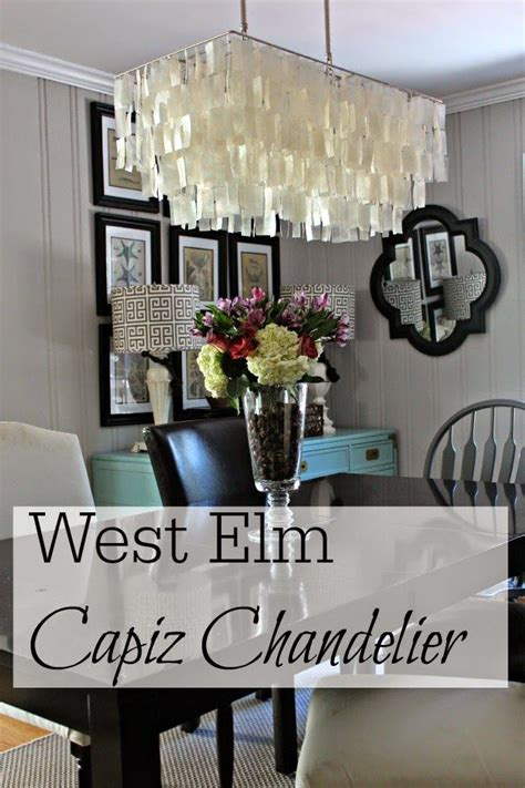 west elm capiz chandelier west elm capiz chandelier mondays posts and pictures of