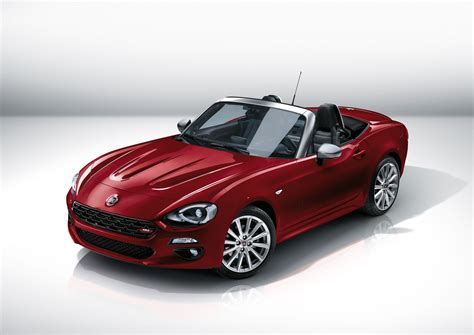 New Fiat Spider by La Auto Show New Fiat 124 Spider