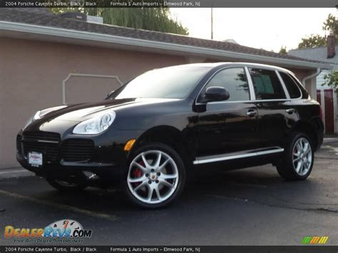 cayenne porsche black 2004 porsche cayenne turbo black black photo 1