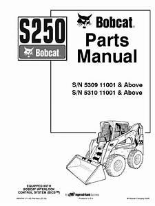 Bobcat S250 Parts Manual