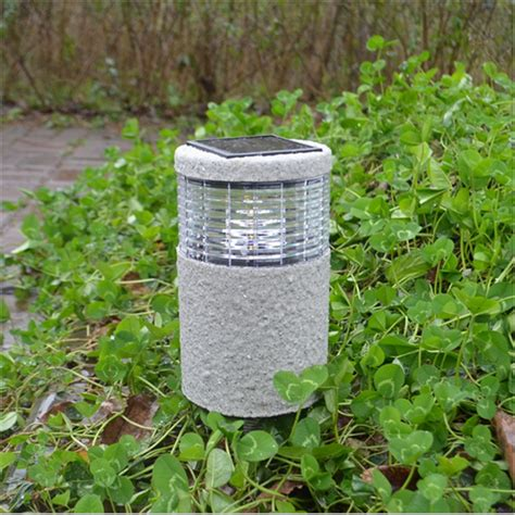 solar power led garden l wall light lawn landscape path