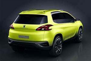 Future 2008 Peugeot : peugeot 2008 crossover concept rear profile ~ Dallasstarsshop.com Idées de Décoration