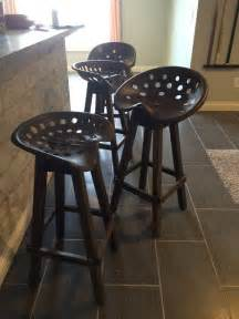 Outside Patio Bar Ideas by Tractor Seat Bar Stool Diy Projects For Everyone
