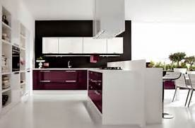 Heavenly Home Interior Beside Modern Kitchen Ideas Pict Designs White Kitchen Design Kitchen Images Purple Kitchen Modern