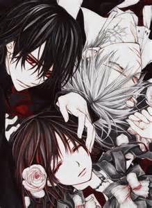 Vampire Knight Zero and Yuki Scenes