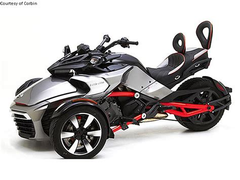 canap m corbin introduces saddle for can am spyder f3 motorcycle usa