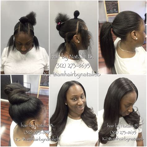Looking Sew In Weave Hairstyles by So Looking And Versatile Pony Sew In