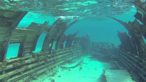 Boat Crash Corsica by Plane Dive Normans Cay Bahamas