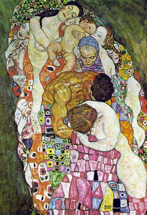 Klimt La by Gustav Klimt La Vie Et La Mort 1254067294 171 Arbrealettres