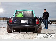 Tuned Nissan Micra Pickup Fast Car