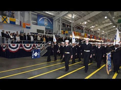 navy boot camp graduation april   youtube