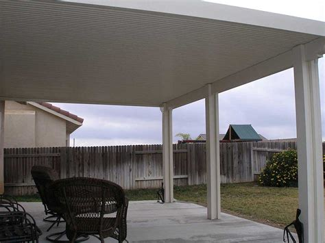 orange county solid patio cover wood vs aluminum patio