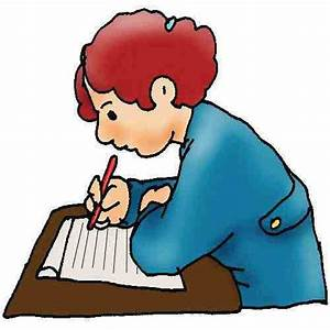 Boy Writing Clip Art | Clipart Panda - Free Clipart Images