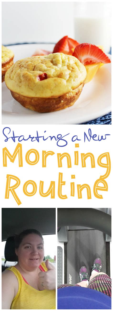 Starting A New Morning Routine  The Shirley Journey