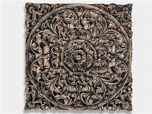 Buy Exotic Hand Carved Wooden Wall Art Hanging Panel Online