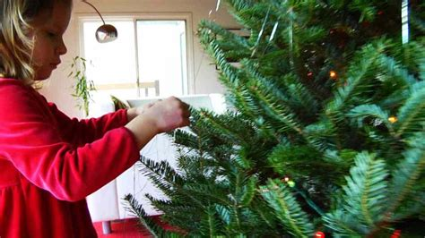 how to hang garland on christmas tree how to hang garlands tinsel on a tree howcast the best how to