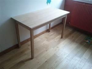Construire Un Bureau : fabrication d un bureau table en ch ne brico info le blog de bruno catteau ~ Melissatoandfro.com Idées de Décoration
