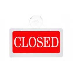 Open Door Closed Signs