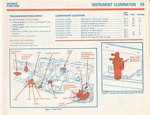 1981 F100 Gauge Cluster Wiring Diagram
