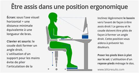 si e ergonomique pour le dos bureau ergonomique s 39 asseoir correctement pour lutter