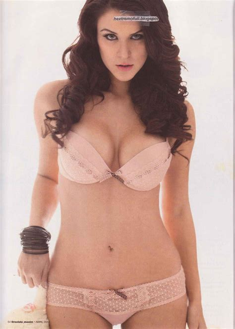 veronica montes in maxim magazine mexico your daily girl
