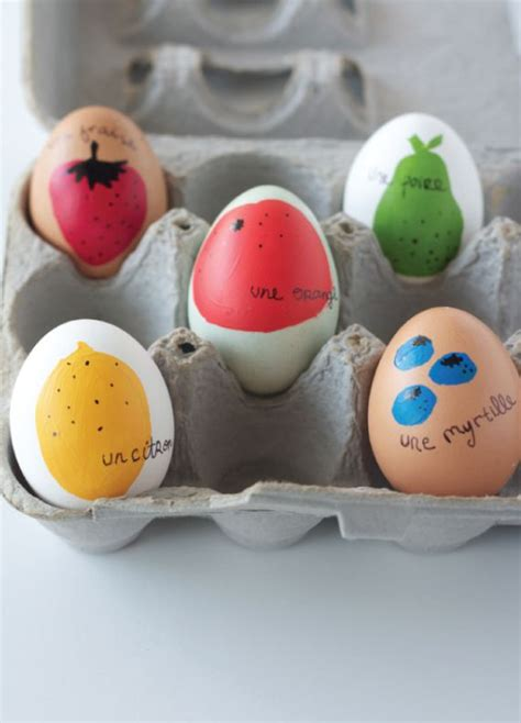 ways  decorate easter eggs