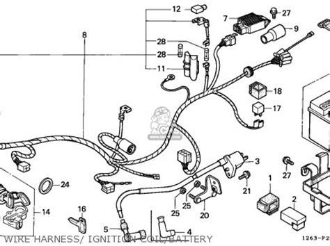 honda st70 dax 1990 l cmf mk parts lists and schematics