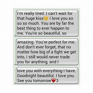 Goodnight Texts Tumblr liked on Polyvore | Cute text ...