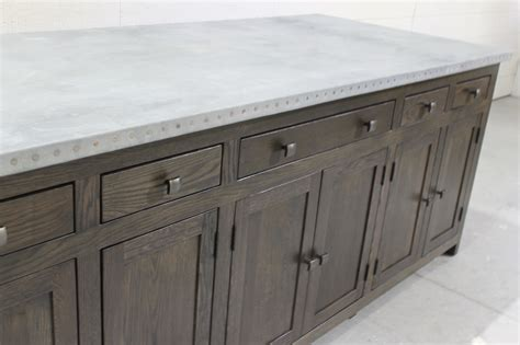 zinc top kitchen island zinc kitchen island custom built to order 978 505 3222 1710