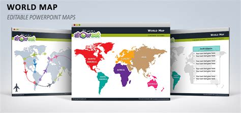Carte Vectorielle Monde Powerpoint by Carte Du Monde Pour Powerpoint