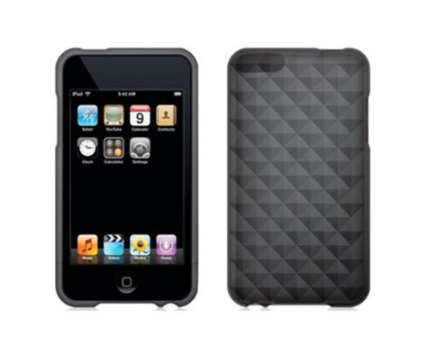 griffin technology gb02012 224 16 86 griffin housse ipod touch 4 motif smoke diamonds en tpu 172