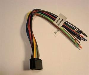 Jvc Dvd 16 Pin Wire Harness Kd Avx11 Avx33 Avx40 Avx44