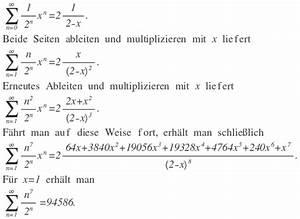 Grenzwert Berechnen : grenzwert grenzwert der reihe 5n 7 2 n berechnen mathelounge ~ Themetempest.com Abrechnung